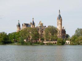 STOCK Castle Schwerin 2 by Inilein