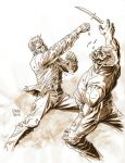 Wash tone effect: FIGHT by Darry