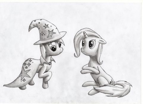 The Great and Powerful Derpy by Ravirr94