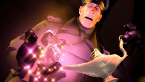 [SFM] Medic Finds A Genie by kungfubellydancer
