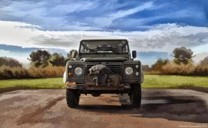 Old Land Rover by BrknRib