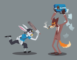 QUICK AS A LITTLE BUNNY by TimeLordEnglish