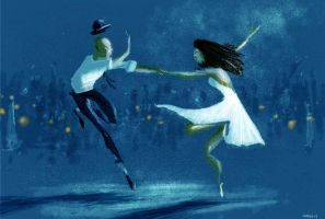 Blue Dance by PascalCampion