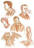 Supernatural sketches 2.2.12 by Anaeolist