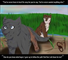 Warrior Scene 1: Say Something by ClawsandSkulls98