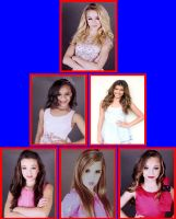 My Dance Moms Pyramid of favorites (reprise) by EmoInuyasha