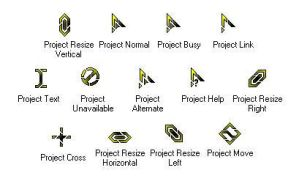 Project Cursors by main-offender