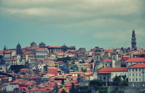 Rooftops in Porto by ralucsernatoni