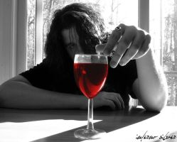My Wine in Silence, Part I by infernosilver