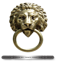 Lion Door Ornament by M10tje