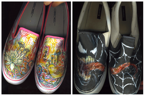 Acid + Venom Shoes by manique