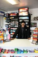 Gas Station Man by PuckRox
