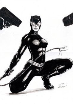 Catwoman  - Standoff by craigcermak
