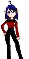 Starfleet Uniform - TNG1 by Glee-chan