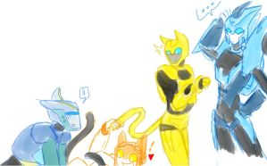 tfa: kittens will play by MeiCailya