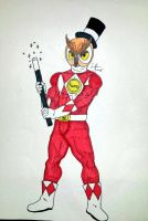 Red Ranger Hoodini by SimpleTheSaviour