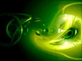 Abstract Green by mnus