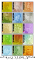 MGS4 Avatar Collection by OcelotSnake89
