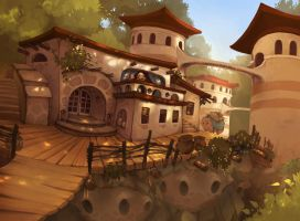 The Teahouse by Etoli
