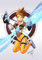 Overwatch Tracer by Puffyko
