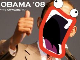 Barack Obama Shoops YOUR Woops by Artist-Man