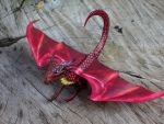 Red Dragon paper model by Cavyman