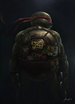 Teenage Mutant Ninja Turtle by kevintolibao