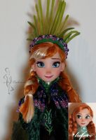 OOAK trollwedding Anna doll by lulemee