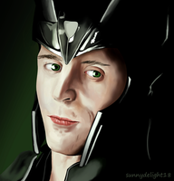 God of Mischief by sunnydelight18
