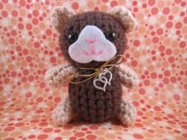 Amigurumi Brown Guinea Pig by AmiTownCreatures