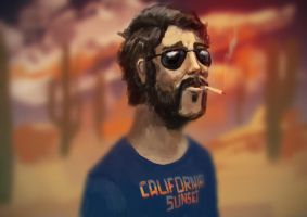 Shitty T-shirt Dude by FlyingApplesaucer