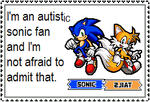 I'm an autistic sonic fan by Sugary-Cakes