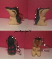 Cyndaquil Keychain by pandaparty666