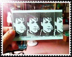 Edward Stamp Prints by amoykid