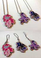 Charms + Necklaces by spacekitsch