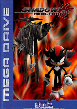 Shadow The Hedgehog Box Art by SuperSonic92