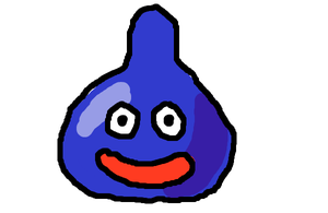 Slime Shading practice by DragonQuestWes