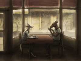 Cafe by Canis-ferox