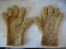 Brown hand paws by Monoyasha