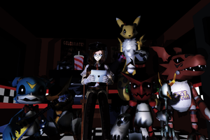 Five Nights at Shoutmon's by Clonesaiga