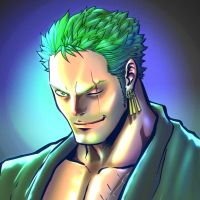 The Chamba's Zoro, Colored by GeneralSoundwave