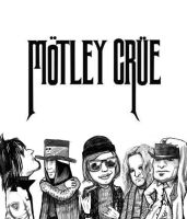 Motley Crue by MilloSketch
