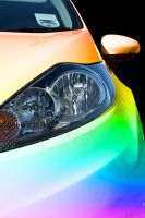 Rainbow Car by x-Emma-Billi-x