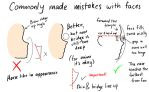 Commonly made mistakes with faces (side profile) by KAkkoiITO