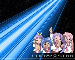 Lucky Star Wallpaper by level07