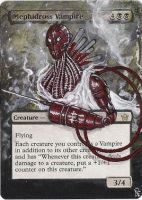 Magic Card Alteration: Mephidross Vampire by Ondal-the-Fool