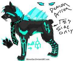 Demon Arron by FallenWolfLord