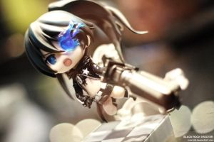 Black Rock Shooter by marcoTJ