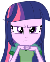 EG Twilight Sparkle look at you by WmSonee