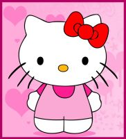 How to Draw Hello Kitty by Anglerfish5